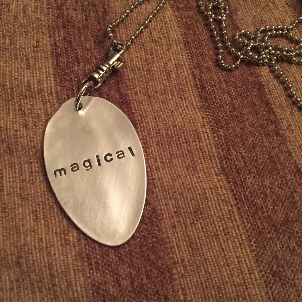 """magical""  Spoon Necklace"