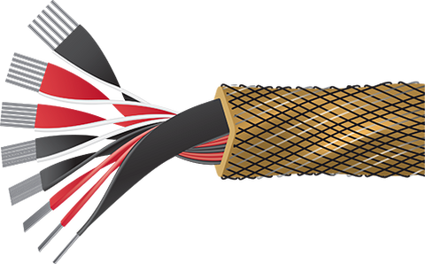 Gold Eclipse 8 Speaker Cable - Per Meter/Foot - Bulk