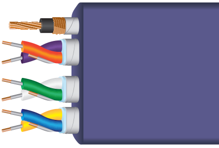 Ultraviolet™ 8 USB 3.0 Audio Cables