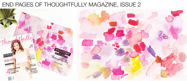 Artist Mari Orr in Thoughtfully Magazine, Issue Two