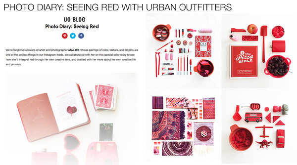 Urban Outfitters Photo Diary with artist Mari Orr