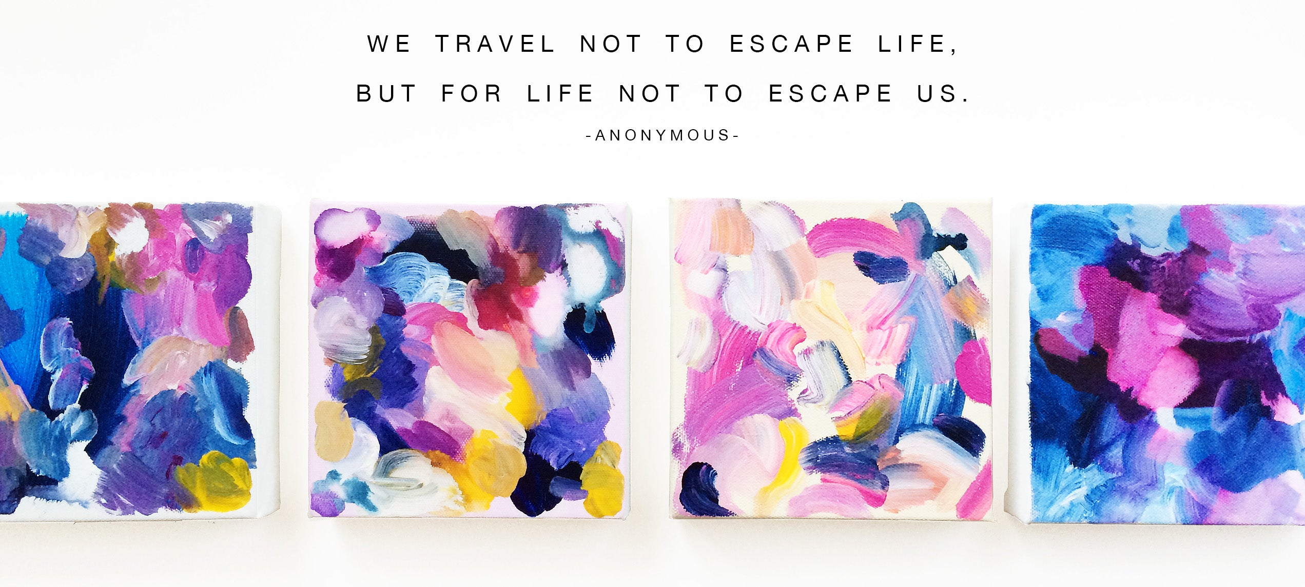 Why we travel! Artist Mari Orr || www.mariorr.com