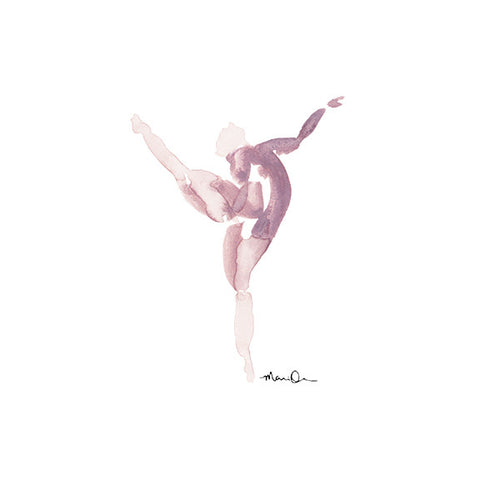 Dancing 01<br>Archival Watercolor Print - Mari Orr  - 2