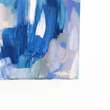 Epiphany Original Abstract Painting Blue Art Energetic by Mari Orr || www.mariorr.com