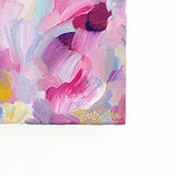 Garden Party Fresh Abstract Painting Acrylic Art Pink by Mari Orr || www.mariorr.com