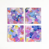 Happiness Minis<br>Original Acrylic Abstract Color Study - Mari Orr  - 1
