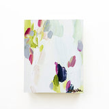 "Josephine Original Abstract Painting 5x7"" Acrylic Fresh Feminine by Mari Orr 