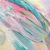 Mirabella Oil Painting Abstract Art Colorful Rainbow by Mari Orr || www.mariorr.com