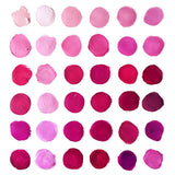 Polka Pink Swatches by Mari Orr || September FREE art download wallpaper for desktop and iPhone/Android