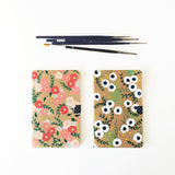 Gypsophila + Ranunculus Hand-Painted Journal - Mari Orr  - 6