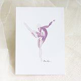 Dancing 01<br>Archival Watercolor Print - Mari Orr  - 1