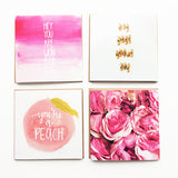 Happy, Happy Watercolor Greeting Card Set for Just Because, Thank You by Mari Orr