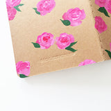 Dreamy Pink Roses Hand-Painted Journal - Mari Orr  - 4