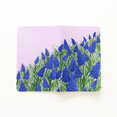 Muscari Hand-Painted Journal - Mari Orr  - 1
