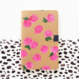 Dreamy Pink Roses Hand-Painted Journal - Mari Orr  - 1