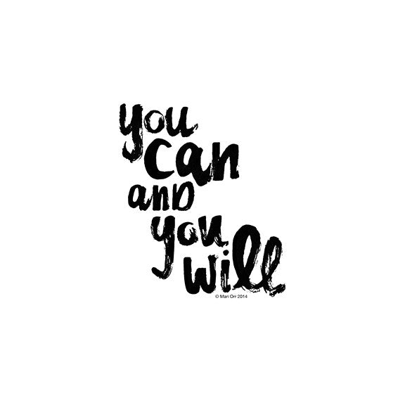 You Can and You Will<br>(FREE DOWNLOAD) - Mari Orr