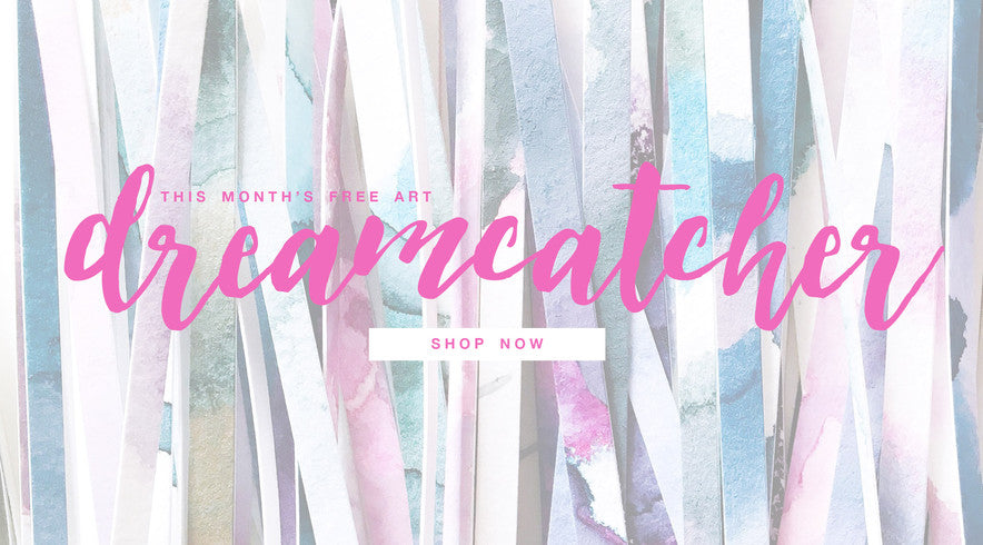 Dreamcatcher FREE art by Mari Orr!