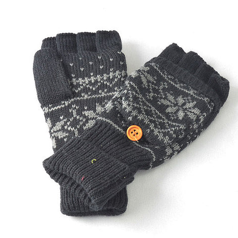 Scandinavian Knit Gloves