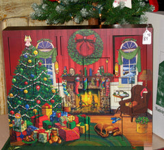 Wood Advent Calendar Boxes