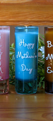 Personalized Mother's Day Candles