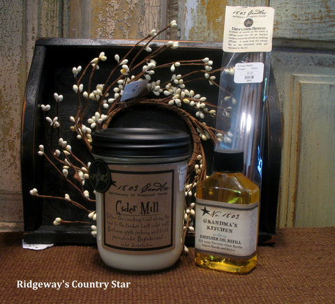 1803 Soy Jar Candle