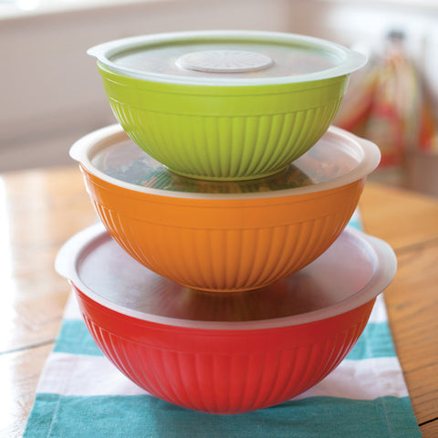 Covered Bowl Set