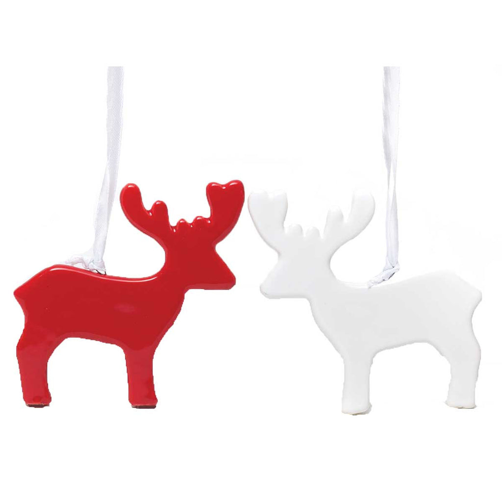 Ceramic Deer Ornament