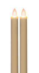 "Mirage 9"" Taper LED Candle with Timer"