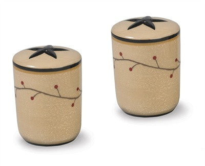Star Vine Salt & Pepper Shaker Set