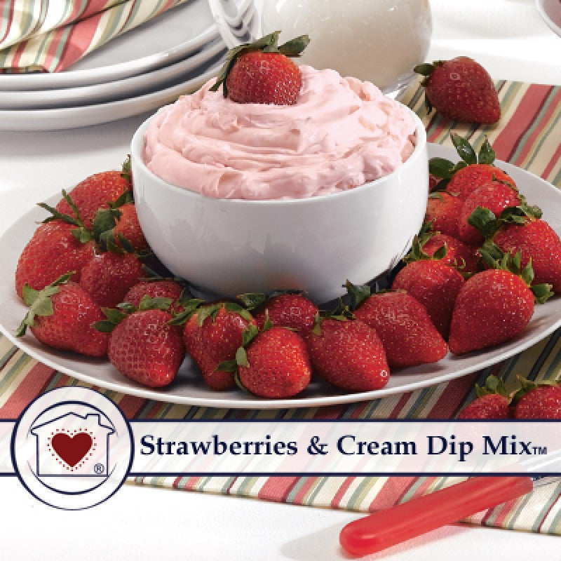 Strawberries & Cream Dip Mix