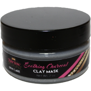 Soothing Charcoal Clay Mask - Divine Designz Cosmetics