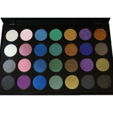 28 Colors Classic Shimmer Eyeshadow Palette - Divine Designz Cosmetics
