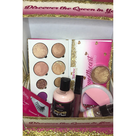 Rose Gold Beauty Bundle Box