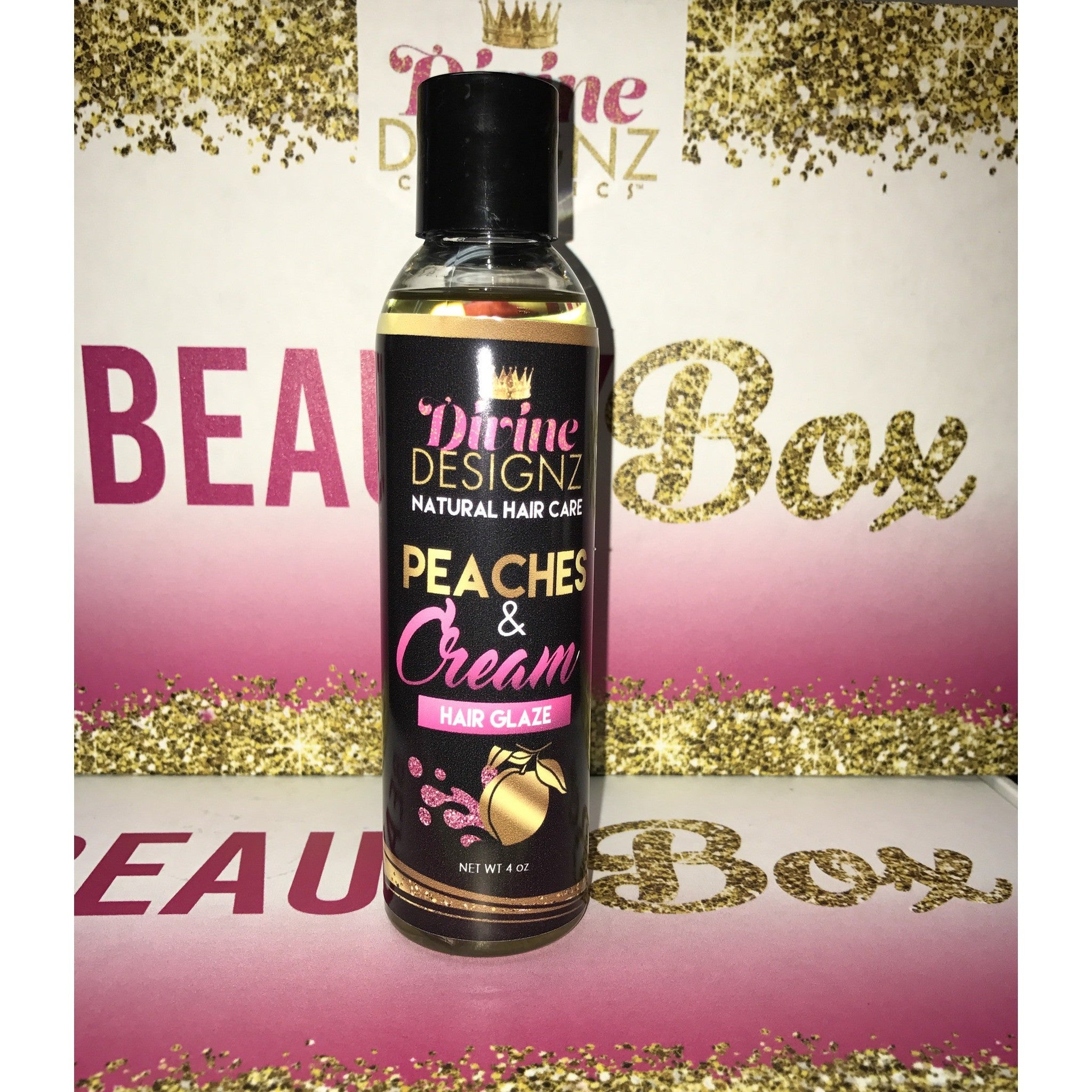 Peaches & Cream Hair Glaze - Divine Designz Cosmetics