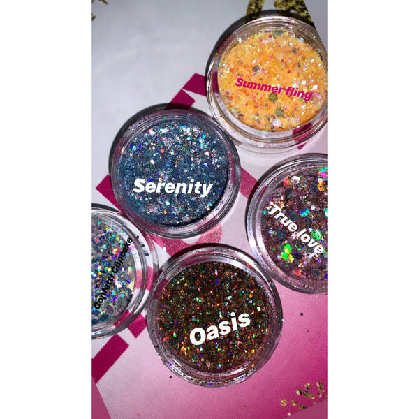 True Love Loose Glitter - Divine Designz Cosmetics