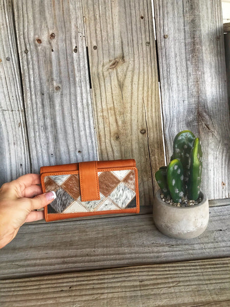 Brazilian cowhide wallets