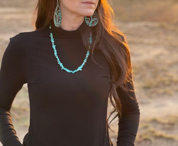 The Nola turquoise necklace