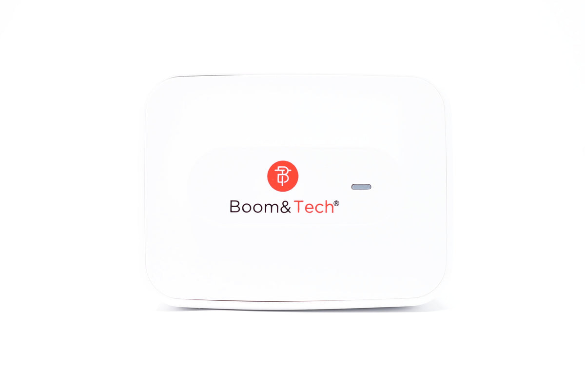 Boom&Tech® USB Wall Charger 25W QC 3.0 USB 3 Ports for Samsung Galaxy Note8, LG G6/V30, iPhone X/8/Plus and More - Boom&Tech®