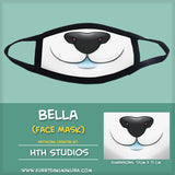 Bella Face Mask by HTH Studios