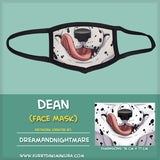 Dean Face Mask by DreamAndNightmare