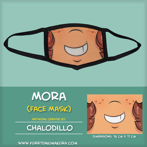 Mora Face Mask by Chalodillo
