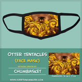 Otter Tentacles Face Mask by Chumbasket