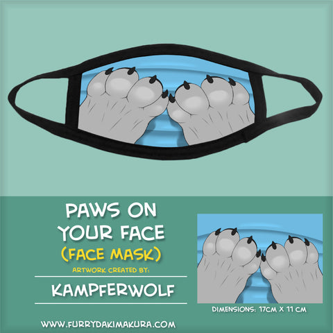 Paws On Your Face by Kampferwolf