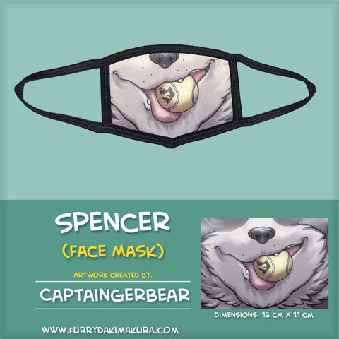 Spencer Face Mask by CaptainGerBear