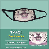 Trace Face Mask by Kenno Arkkan