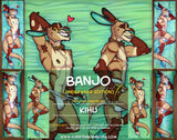 Banjo the Kangaroo by Kihu