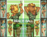 Beach Ball Dakimakura by Atryl