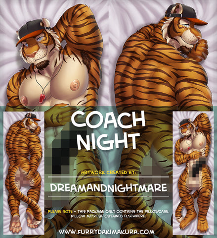 Coach Night Dakimakura by Dreamandnightmare