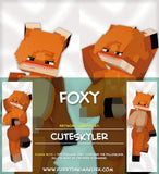 Foxy by Cuteskyler