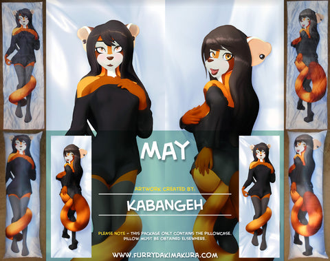May Sanderson Dakimakura by Kabangeh